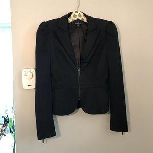 Bebe puff shoulder jacket